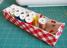 Fabric organizer basket