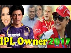 IPL 2017 All Team Owner List And Name - Sports Gallery 4U
