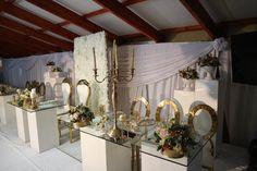 Wedding Reception Decor by Em'ganwini Kraal Wedding Reception Decorations, Staging, Rose, Diy, Furniture, Ideas, Home Decor, Role Play, Pink