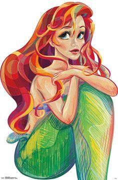 Disney Little Mermaid Ariel Micro Raschel Cozy Throw Blanket Decor 46 x 60 Inch Disney Pixar, Film Disney, Arte Disney, Disney And Dreamworks, Disney Magic, Disney Characters, Punk Disney, Disney Facts, Disney Villains