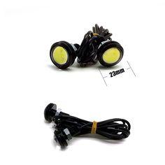 1Pcs Parking light 23mm Eagle Eye led car lights DRL Daytime Running Light 12V 9W Fog Tail LED Lamp Waterproof Reverse Lamp AG [Affiliate]