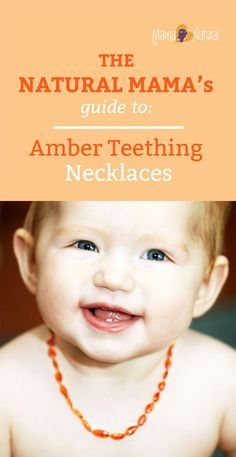 Many mamas swear by em, but do they work? Are they safe? Should you buy a baltic amber teething necklace for your baby? Find out! Baby Teething Remedies, Teething Symptoms, Teething Babies, Amber Necklace Baby, Baltic Amber Teething Necklace, Wedding Ring For Her, Wedding Rings, Natural Parenting, Baby Health