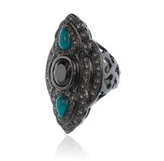 Meet Me There ring Turquoise Bohemian Jewellery, Turquoise Rings, Samantha Wills, Mode Style, Bridal Style, Jewelry Design, Bling, Jewels, Stuff To Buy