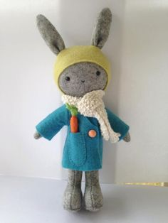 Thistledown Rabbits Pattern by braidcraft on Etsy