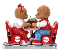 coca cola cherished teddy bears