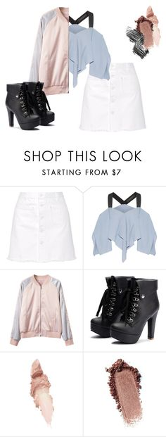 """""""Pastel Outfit"""" by mochicandy on Polyvore featuring Steve J & Yoni P, Roland Mouret, Maybelline, Illamasqua and pastel"""