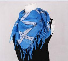 Kyoukai no Kanata Beyond the Boundary Nase Hiroomi Blue Scarf Cosplay Accessory