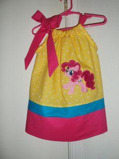 Pinkie Pie My little Pony Pillowcase Dress. $27.00, via Etsy.