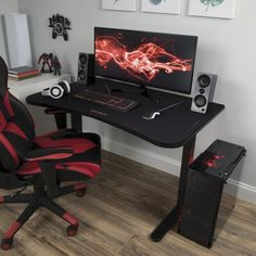 Looking for RESPAWN Gaming Computer Desk Respawn ? Check out our picks for the RESPAWN Gaming Computer Desk Respawn from the popular stores - all in one. Computer Gaming Room, Gaming Room Setup, Pc Setup, Gaming Chair, Gaming Desk Small, Computer Desk Setup, Best Gaming Setup, Gamer Setup, Gaming Rooms