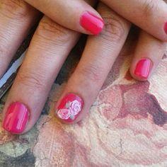 #vintagenails #roses ♡