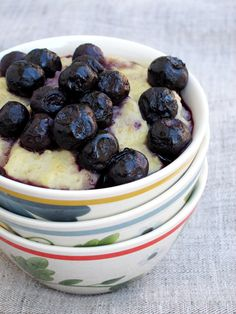 Lemon Blueberry Oatmeal | The Oatmeal Artist