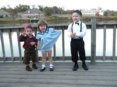 The Little Rascals Halloween costumes