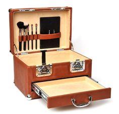 Valise Leather Vanity Cases Beauty Case Vanity by valiseonline