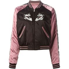 Diesel G-Absol-D Bomber Jacket ($433) ❤ liked on Polyvore featuring outerwear, jackets, flight jacket, bomber jacket, diesel jacket and blouson jacket