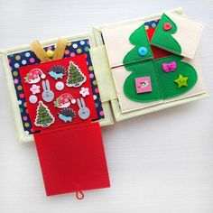 In stock Quiet book Christmas gift Toddler Quiet book Christmas Presents For Parents, Presents For Girls, Christmas Gifts For Girls, Personalized Christmas Gifts, Babies First Christmas, Christmas Books, Merry Christmas, Felt Christmas, Christmas Ornaments