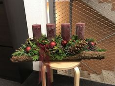 Most recent Snap Shots farmhouse Advent Wreath Ideas A lot of church buildings variety a great Advent-wreath-making affair with the very first On the wit Christmas Mood, A Christmas Story, Xmas, Christmas Ideas, Make Your Own Wreath, How To Make Wreaths, Advent Wreath, Diy Wreath, Wreath Making