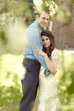 A Kelsey McIntyre gown.  A DIY Country Wedding In Edmonton, Alberta on http://www.weddingbells.ca/blogs/real-weddings/2012/11/16/a-diy-country-wedding-in-edmonton-alberta/