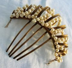 victorian 1860's hair comb