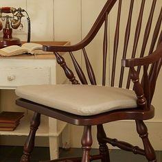 Stuhlkissen für Windsor-Stuhl Delaware - Antique beige