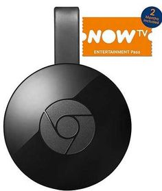 2 months free NOW TV and 250 extra Clubcard points with Google Chromecast You still haven't got a media streamer? How about getting the Google Chromecast for £30?  It lets you stream your favourite TV shows and other medi...