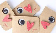 'Eye love you' Kaart - Creatips.nl