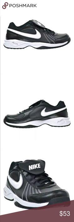 competitive price de91d af4a7 Nike Diamond Trainer Turf Shoes Baseball Softball Mens Nike Diamond Trainer  Turf Shoes Black White 333785