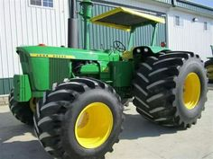 John Deere 6030 FWD. How wide are those tires??!!
