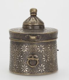 Inkwell, western Iran or northern Mesopotamia early 13th century AD