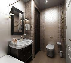 Дизайн ванной комнаты, совмещенной с туалетом – яркие идеи и нестандартные решения смотрите на видеоСобираясь воплотить в жизнь дизайн ванной комнаты, совмещенной с туалетом, фото которого найдено на специализированном портале, следует учесть, что реальные комнаты редко соответствуют идеальным размерам, указанным в плане