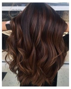 Dark Chocolate Hair Color, Hair Color Caramel, Chocolate Caramel Hair, Chesnut Hair Color, Choclate Brown Hair, Chesnut Brown Hair, Chocolate Brunette Hair, Caramel Brown Hair, Luxy Hair
