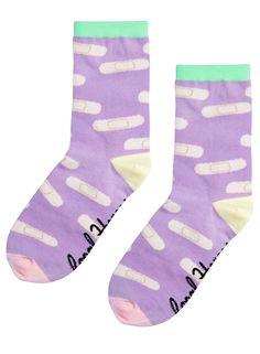 PASTEL PLASTER socks