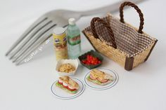 Miniature Food - Picnic Season   Tomatoes are soon back into…   Flickr