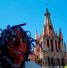 Evento Cuba Fest San Miguel de Allende, Por: Antonieta Herrera Rubio #SanMigueldeAllende #Eventos #CubaFest #2014 #Mojigangas #PapelMache #TonyRubio