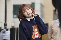Arin Oh My Girl, Girls World, Bell Sleeve Top, Blouse, Cute, Tops, Women, Style, Makeup