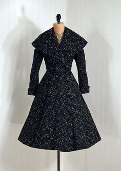 Coat    Lilli Ann, 1940s    Timeless Vixen Vintage    Posted Novem