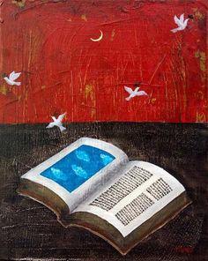 ¡Qué pena de los libros que nos llenan las manos de rosas y de estrellas y lentamente pasan! (Federico García Lorca)