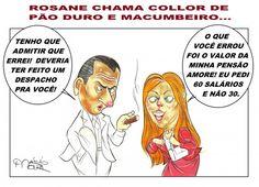 nice Roseane diz que Collor é Macumbeiro e Pão Duro