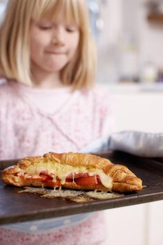 This easy to assemble recipe gives children a chance to get involved with preparing breakfast. They could even make it for you to enjoy in bed on a we