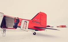 Antarctica photography. Engagement portraits with @billiejojeremy in McMurdo Station, Antarctica. #Antarctica #antarcticaphotography #snow #engagementphotgraphy #engagement #Couples #billiejoandjeremyphotography #airplane #vsco