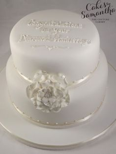 Diamond (60th) anniversary cake