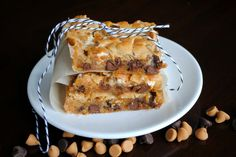 Butterscotch Marshmallow Bars: chewy delicious and addicting!