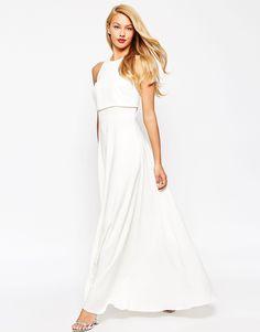 Image 4 - ASOS - Maxi robe à corsage court