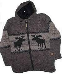 Handmade Wool Shell with Full Micro-Fleece Lining. Full zip with lined hood. Beautiful bull moose knitted design on front. Spring Outfits, Winter Outfits, Chocolate Moose, Bull Moose, Christmas Moose, Beautiful Outfits, Beautiful Clothes, Knitting Designs, Wool Sweaters