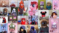 Crochet hats.Ready to ship. por KrazyHats1 en Etsy
