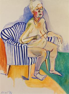 Alice Neel's portraits are rarely serene but always memorable. The new book Painter of Modern Life demonstrates how her early paintings range from the unsettling to the disturbing. Her later paintings largely eschew melodrama, but they are always uneasy, inviting the viewer into a direct and often alarming intimacy with their subjects. Awkwardness abounds, and with it sometimes dark comedy.