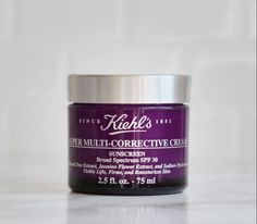 Our most multi-powered formula now has SPF 30, making your daily Kiehl's routine even more efficient. Lift, firm, sculpt, smooth, moisturize and protect with our Super Multi-Corrective Cream with SPF 30.