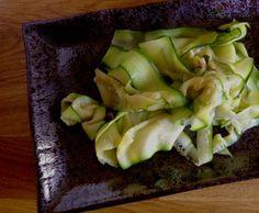 SCD Garlic Zucchini Ribbons