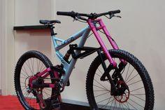 Scurra Full Suspension Bike duolever suspension