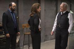 Anthony Hopkins, Sidse Babett Knudsen, and Jeffrey Wright in Westworld (2016-)