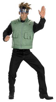 Kakashi Dlx Chld Jacket 10 12